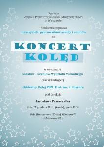 Plakat kolędowy 2014